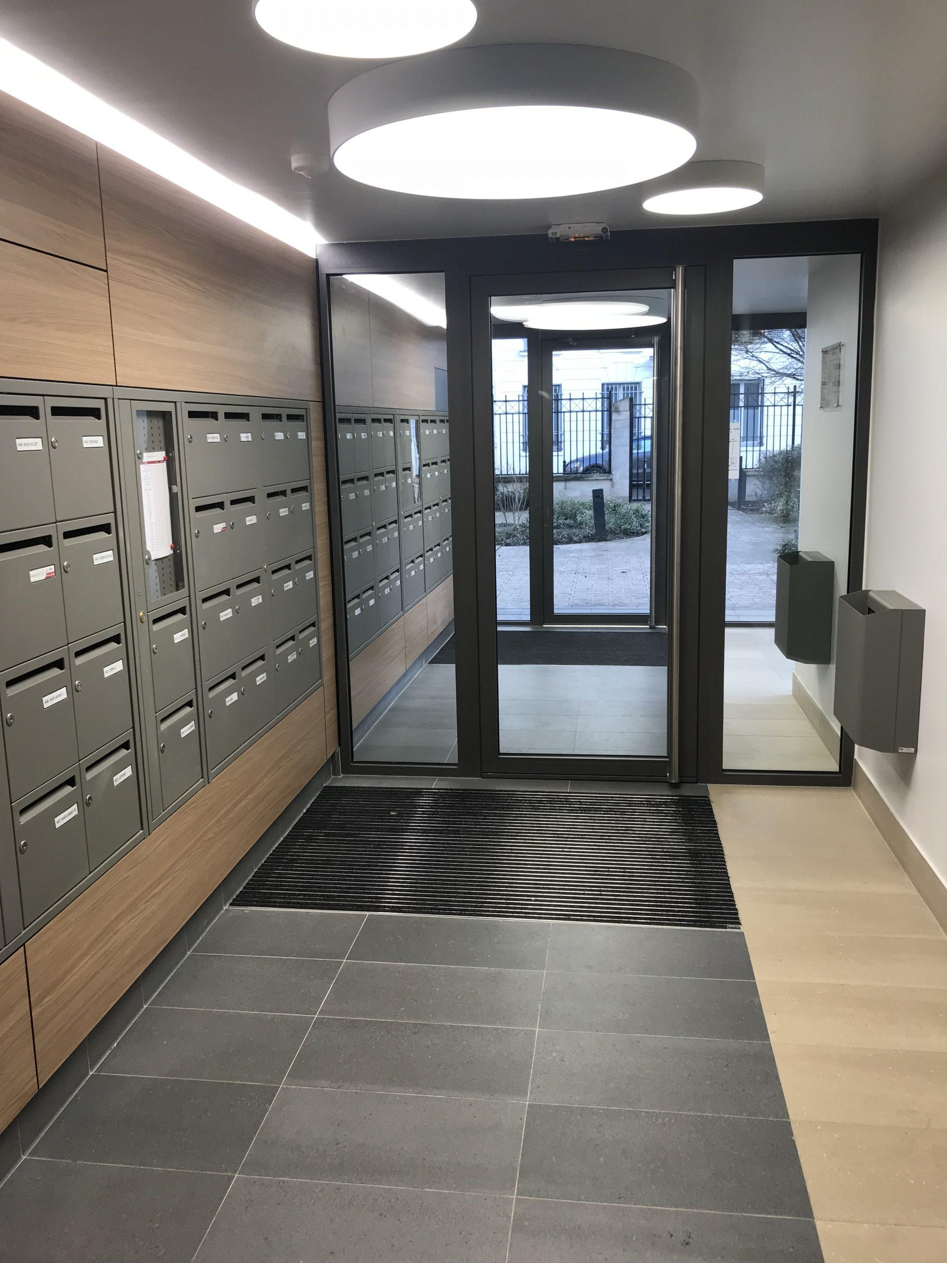 I3F RIPOCHE PARIS 14ème - APRES TRAVAUX 2 - hall d'entrée